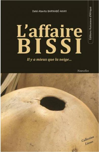 """Couverture de """"L'Affaire Bissi"""" de Daté Barnabé-Akayi"""