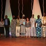Photo de famille de la cérémonie de remise de prix