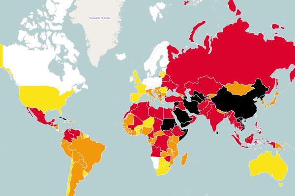 Le Bénin perd 9 places dans le classement mondial 2015 de la liberté de la presse de RSF