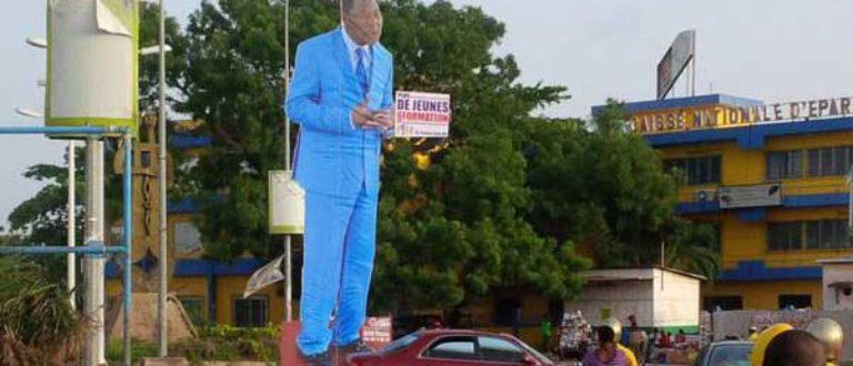 Article : Bénin : une statue géante du Président a suscité l'indignation sur les réseaux sociaux